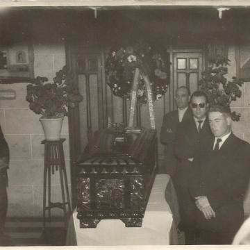 Entierro Lucio García