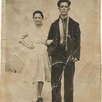 Florentina y José (hermanos)