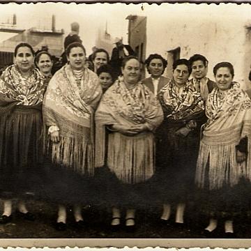 Mujeres de la Diputación del 57 en Carnaval