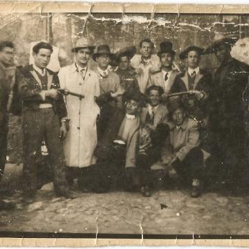 Pandilla de Vidal Mirón de Carnaval