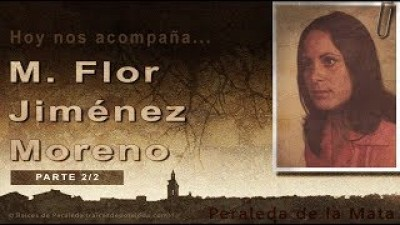Memorias de Mari Flor Jiménez Moreno 2/2 (Mari Flor Jiménez Moreno)
