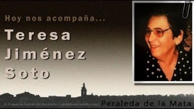 Memorias de Teresa Jiménez Soto (Teresa Jiménez Soto)