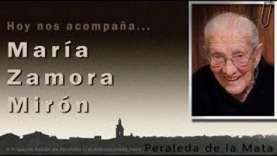 Memorias de María Zamora Mirón (María Zamora Mirón)