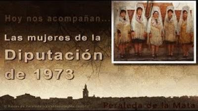 Memorias de las mujeres de la Diputación de 1973