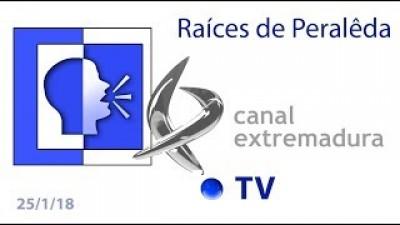 Raíces de Peralêda en Canal Extremadura TV (Vive la Tarde)
