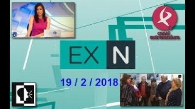 Raíces de Peralêda en Tele Noticias el 19-2-18