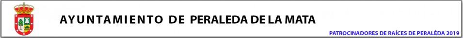 patrocina: Ayuntamiento de Peraleda