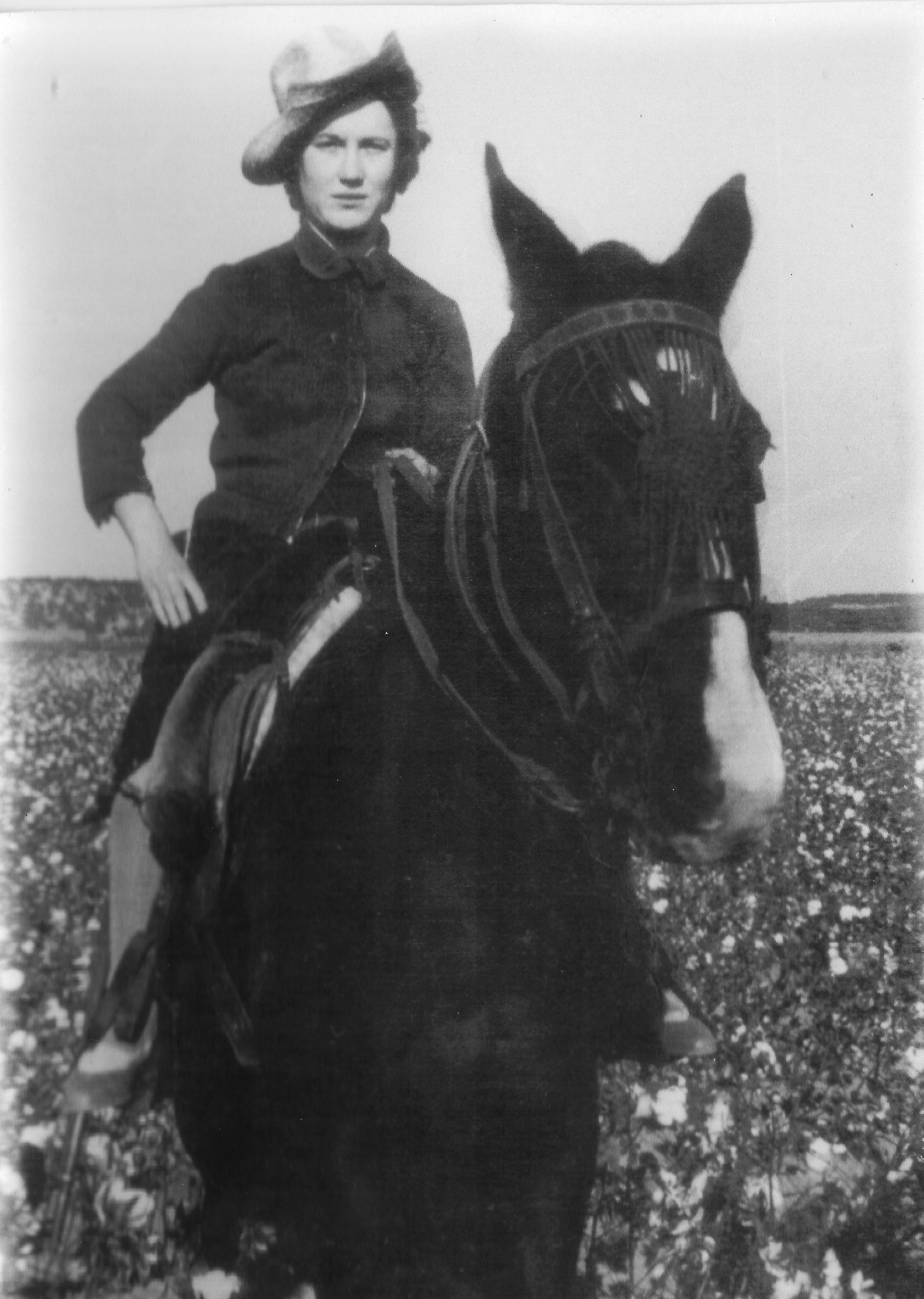 Mercedes a caballo