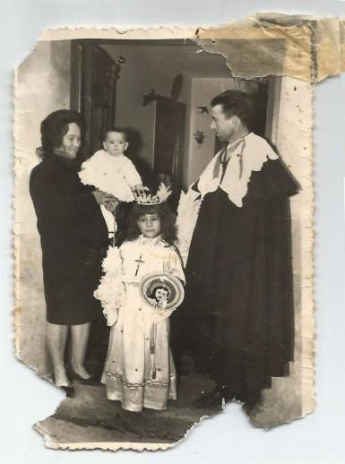 Familia Bravo Martín con Angelito
