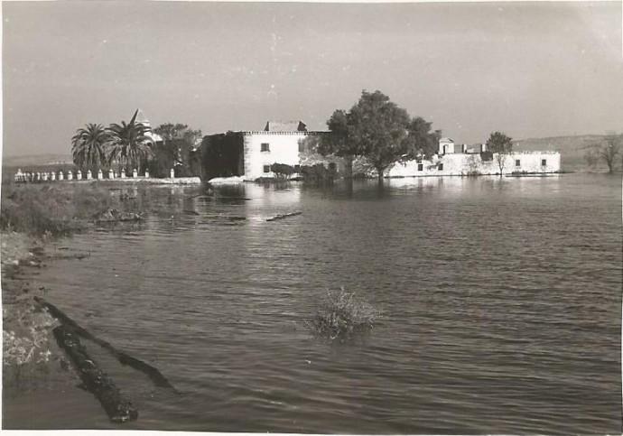 La Casa Grande inundándose