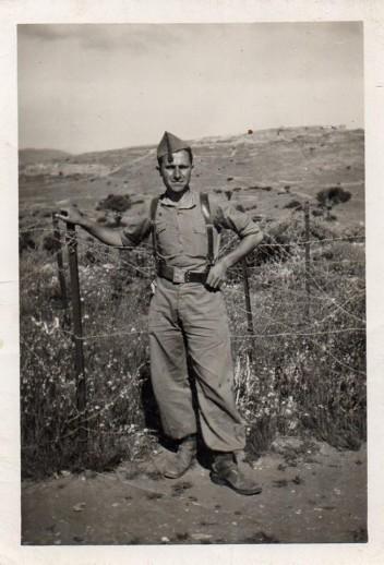 Agustín Miguel en África